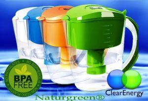 Filtrační konvice s alkalickým vodním filtrem