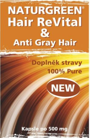 Naturgreen®HairReVital & Anti Gray Hair