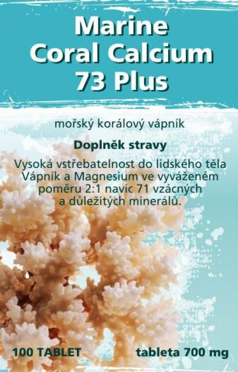 Marine Coral Calcium 73 Plus  - Náhled 1 / 2