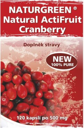 Brusinky -Natural ActiFruit Cranberry